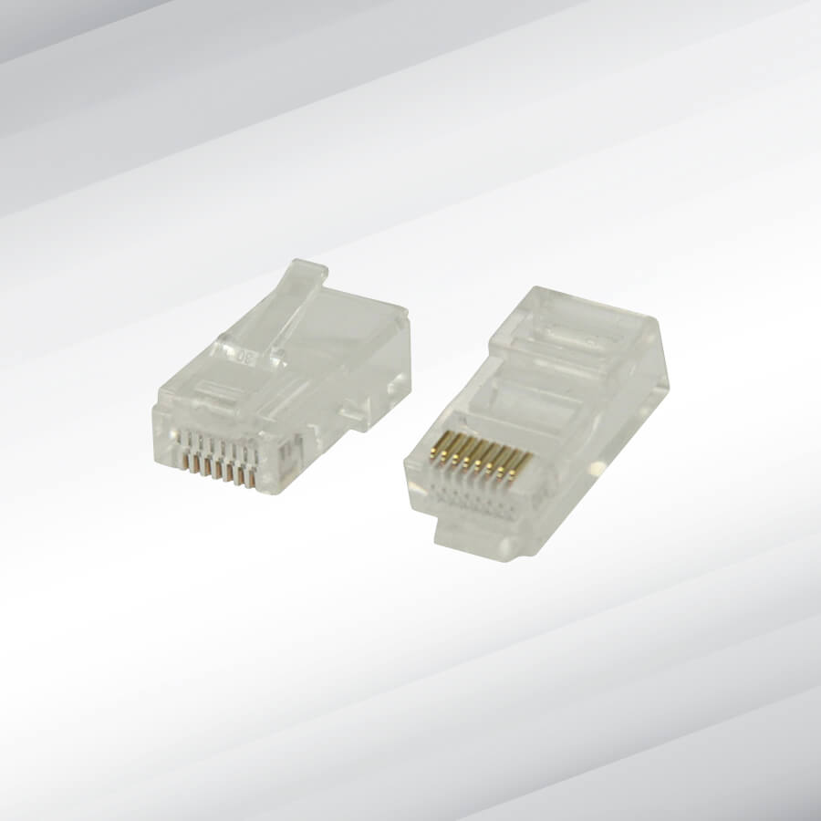 Cat6 Rj45 Ethernet Cable Connectors 100s Ctv Services Connector Cat 6 Modular Plug Previous Next