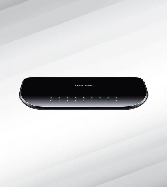TP- Link 8-Port Gigabit Desktop Switch TL-SG1008D