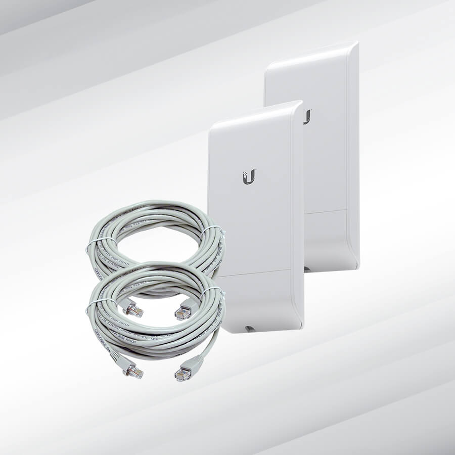 Ubiquiti™ M5 150Mbps Outdoor Wireless Bridge Kit (5GHz, Up to 2Km)