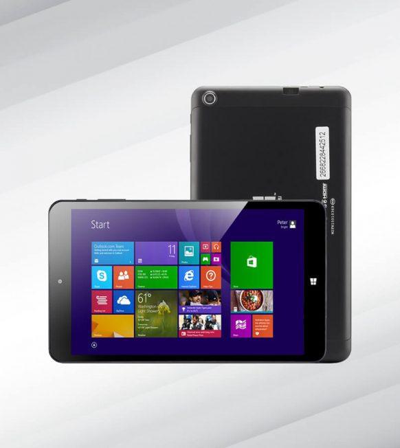 Windows 8.1 Tablet PC – Quad Core CPU, 2GB RAM